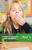Parents Guide to Sleep Disorders brochure