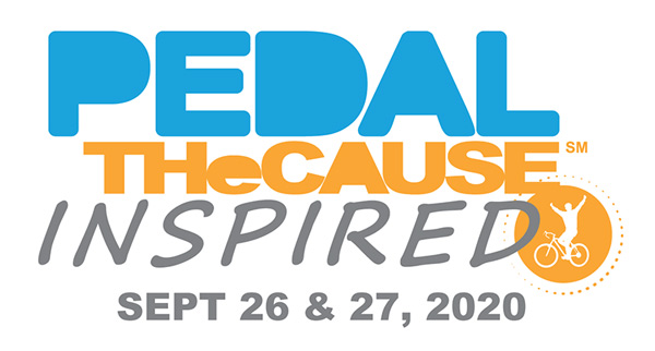 Pedal The Cause Inspired Logo