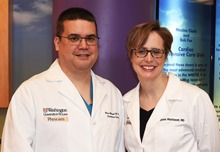 Drs. Aaron and Ginnie Abarbanell