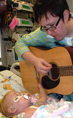 Music Therapy for a patient