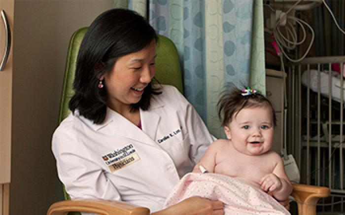 Dr. Caroline Lee worked to establish the Cardiac Neurodevelopmental Clinic to help children with congenital heart disease