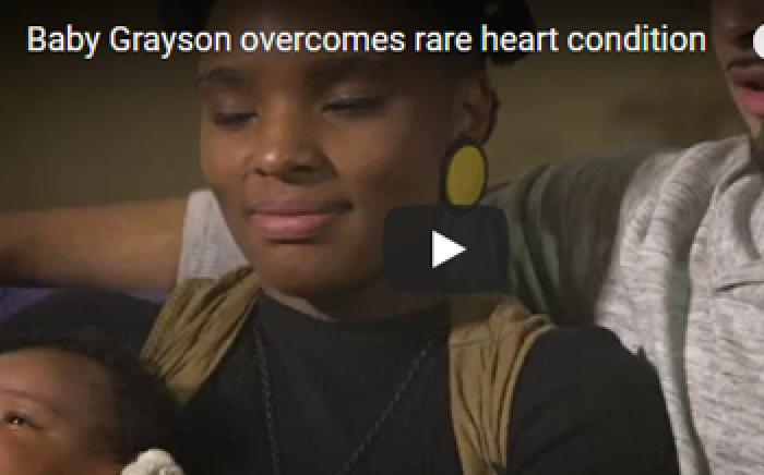 Baby Grayson Overcomes Rare Heart Condition
