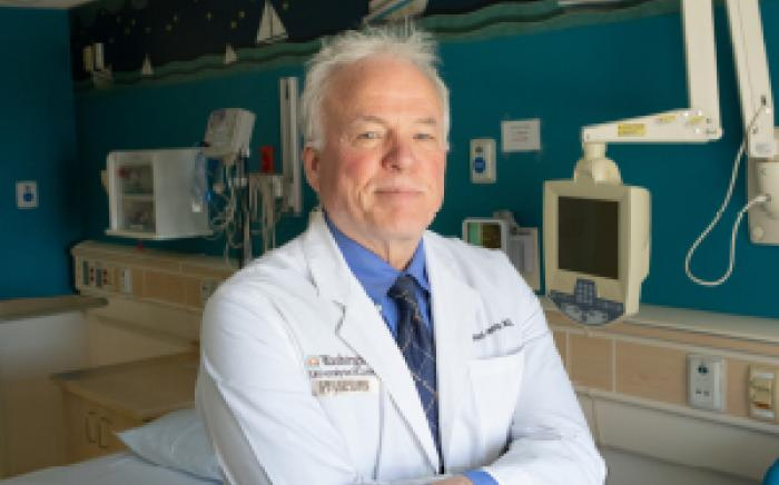 James Kemp, MD, Medical Director of the Sleep Center at Children's