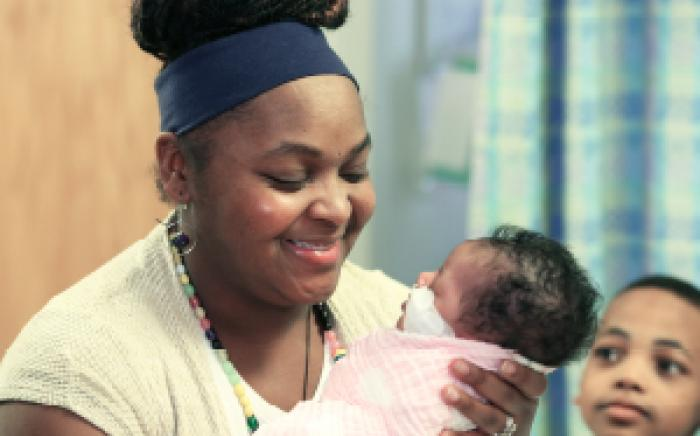 the Perinatal Behavioral Health service helps moms like Latoya cope with a difficult diagnosis