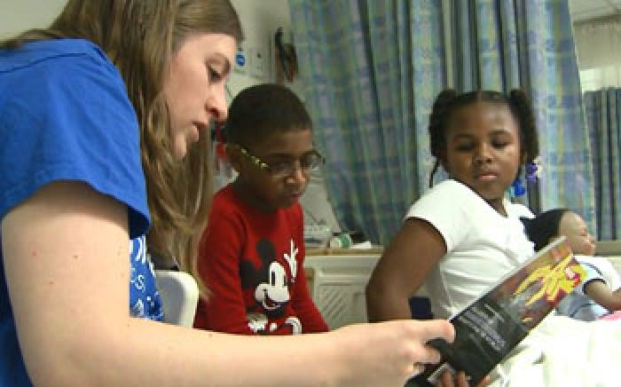 Reading Program Aims to Help Patients at St. Louis Children's Hospital