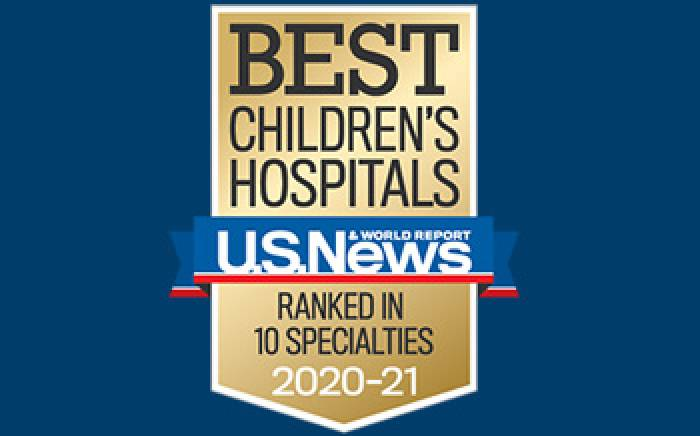 St. Louis Children's Ranks No. 1 Among Missouri Children's Hospitals